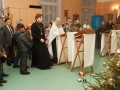 Молебен в храме преподобного Сергия Радонежского на РКК «Энергия» 30 декабря 2015 г.