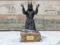 Памятник преподобному Серафиму Саровскому на территории ХПП «Софрино»