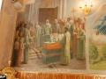 Фреска «Второе обретение мощей преподобного Серафима Саровского. Июль 1991 г.». Серафимовский храм ХПП «Софрино»