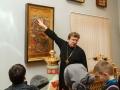 У иконы Рождества Христова. Музей ХПП «Софрино»