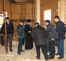 Рабочее совещание по строительству Сергиевского храма