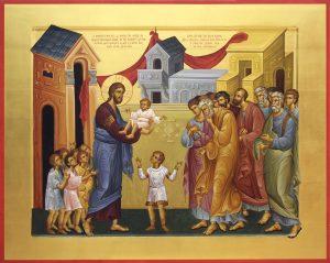 икона-Христос-и-дети