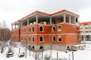Строительство духовно-просветительского центра продолжается