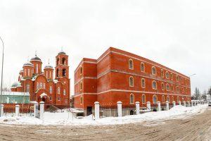Ход строительства духовно-просветительского центра