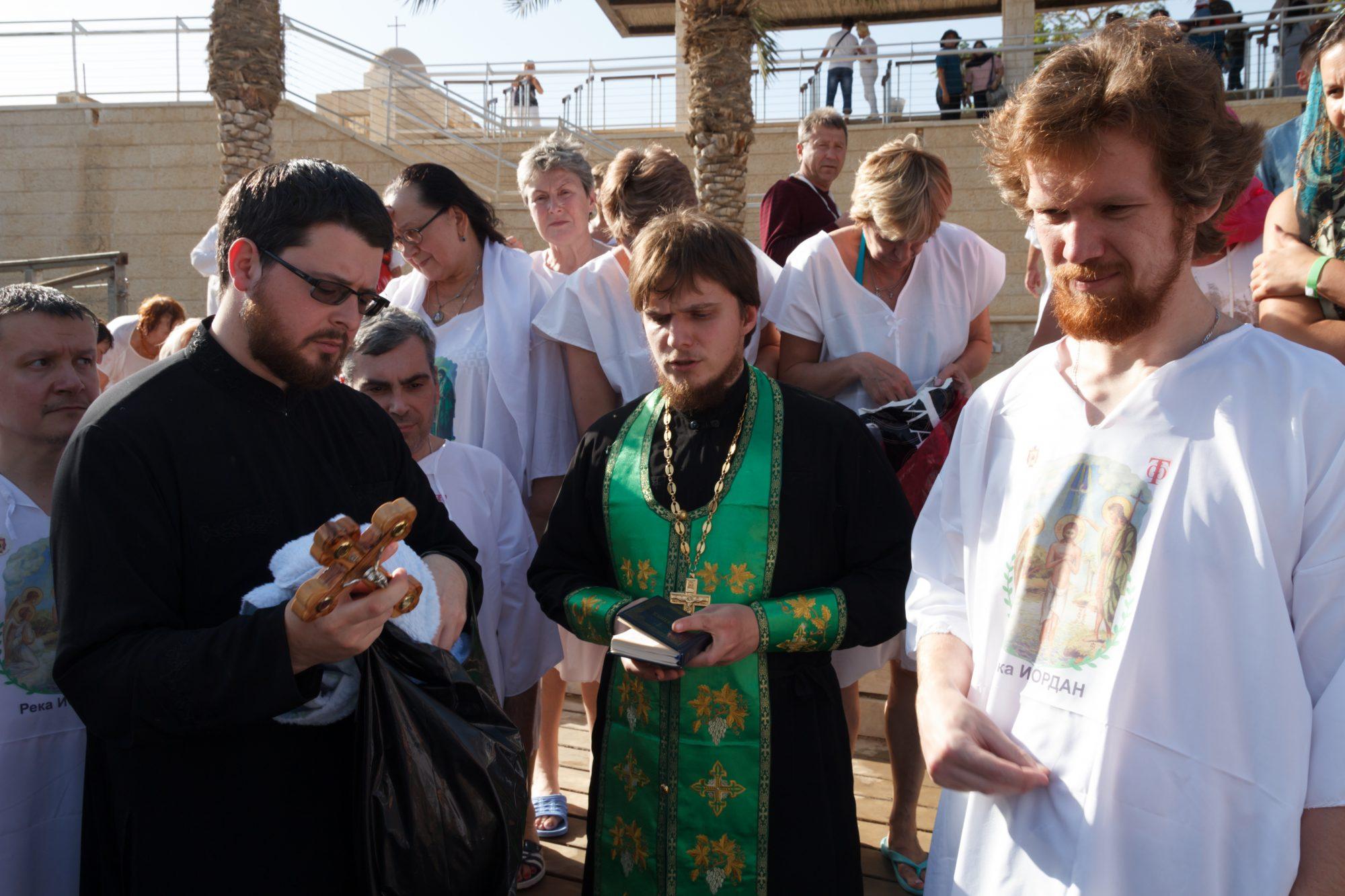 Водосвятный молебен на Иордане